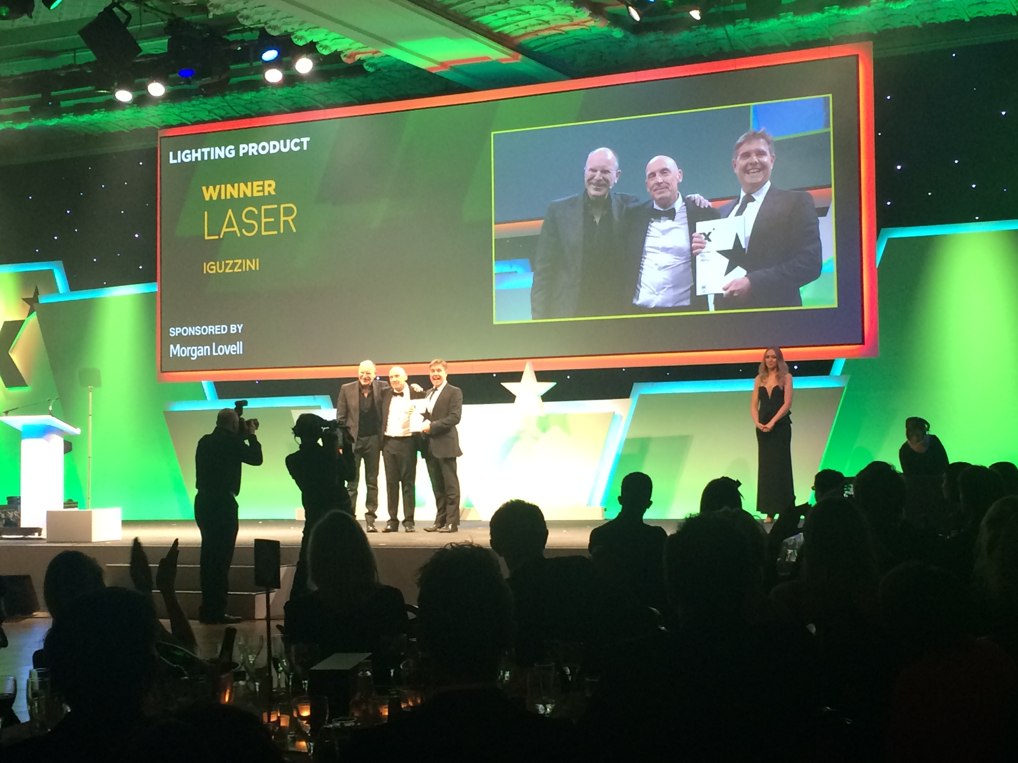 Laser won the Lighting Product category at the 2016 edition of the FX Awards