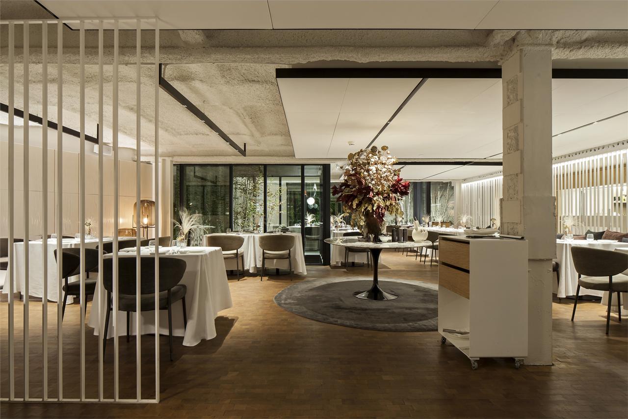illuminazione per hotel, illuminazione per ristoranti e per sale conferenze