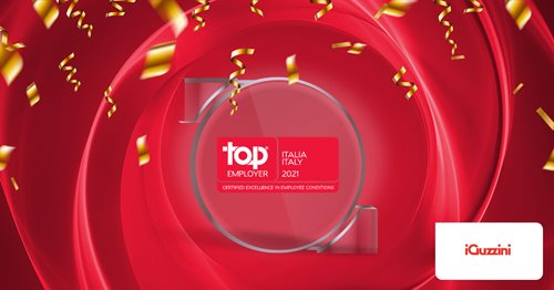 iGuzzini illuminazione is recognised as a Top Employer 2021