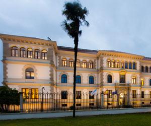 Das Verwaltungsgebäude San Gaetano der Regierung von Galicien