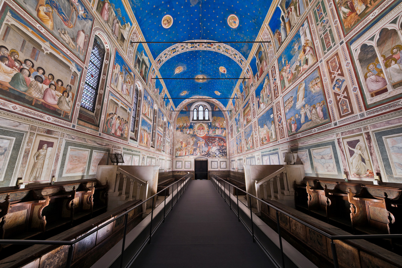 The Scrovegni Chapel - Padua, Italy
