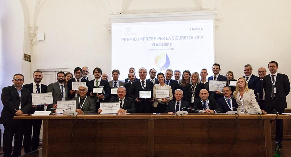 Premio imprese per la sicurezza 2019 - Confindustria Inail