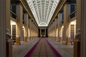 La Playfair Library dell'Università di Edimburgo