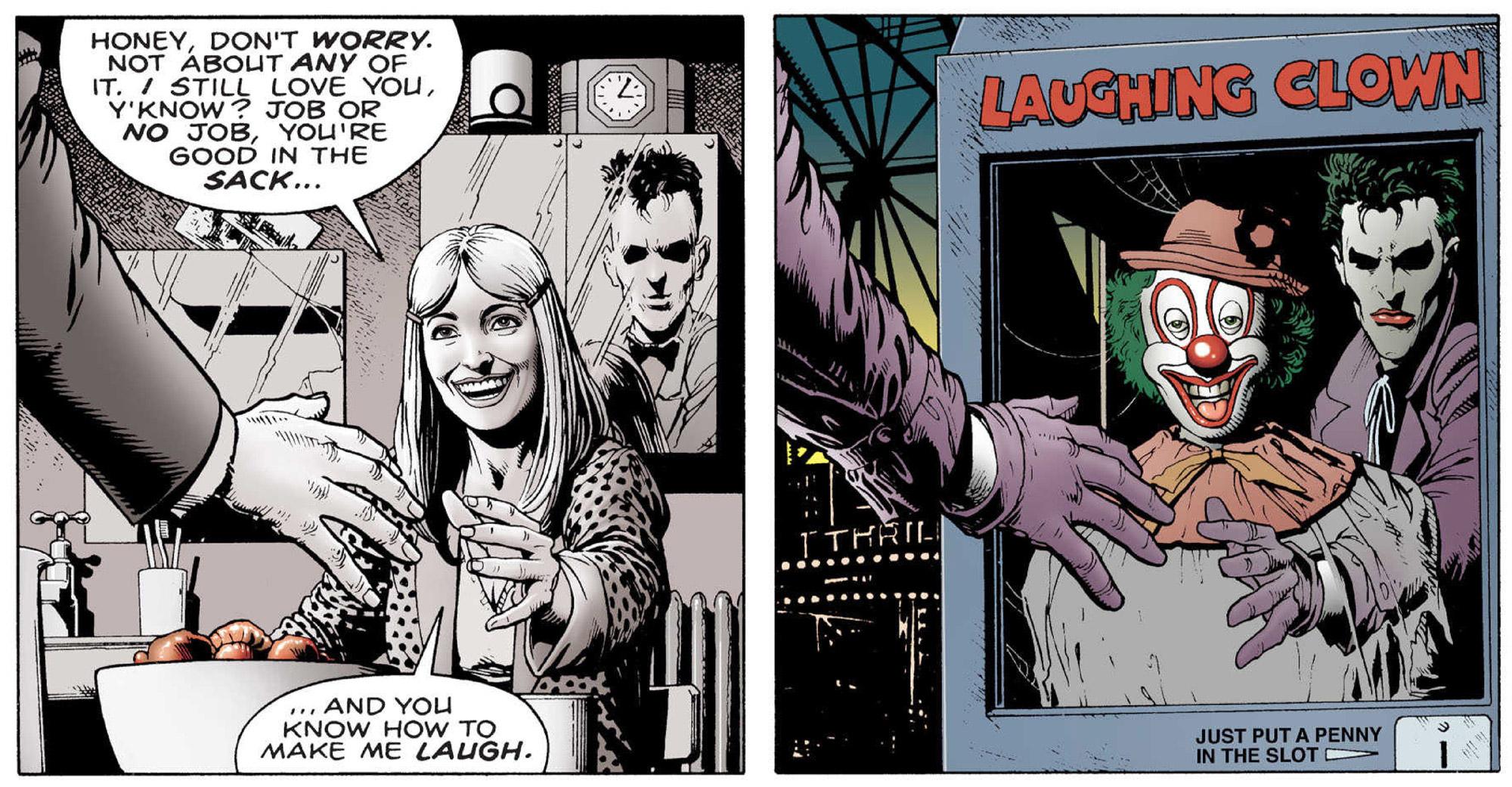 The darkness of Joker