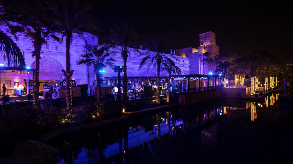 iGuzzini illuminates the football stars in Dubai